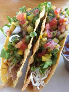You can't beat these tacos.