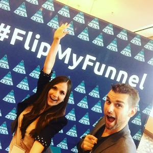 FlipMyFunnel Austin selfie